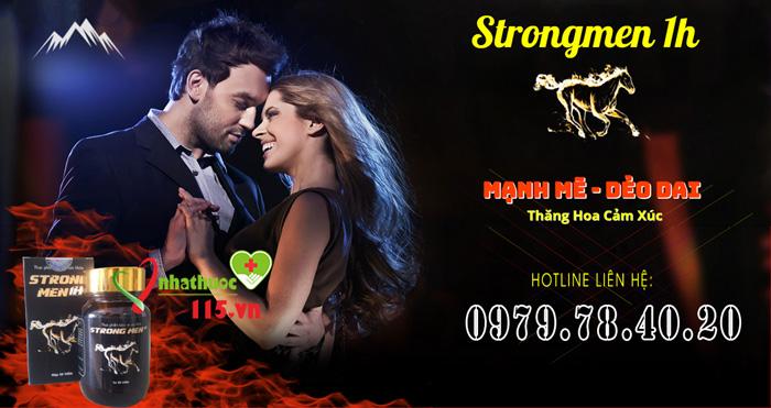 thuốc tăng cường sinh lý nam Strongmen 1h