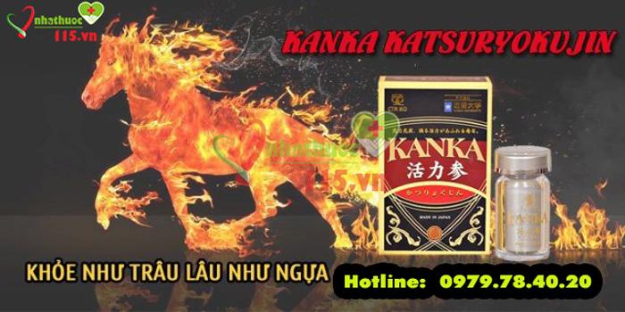 Công dụng Kanka Katsuryokujin